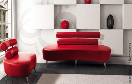Мебель ручной работы. Ярмарка Мастеров - ручная работа. Купить копия диван офисный с валиком. Handmade. Диван, креативный диван