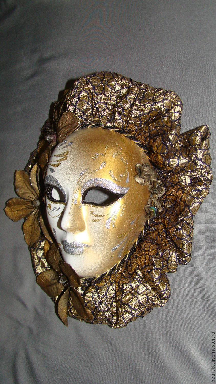 Декор венецианская маска своими руками