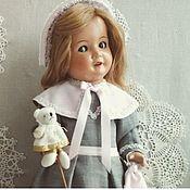 Одежда для кукол ручной работы. Ярмарка Мастеров - ручная работа Аутфит для антикварной куклы. Handmade.