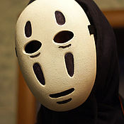 Одежда handmade. Livemaster - original item Kaonashi mask No-Face Faceless mask Spirited Away animation mask. Handmade.