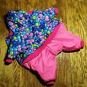 Для домашних животных, handmade. Livemaster - original item Indoor winter jacket for girls. Handmade.