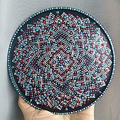 """Посуда ручной работы. Ярмарка Мастеров - ручная работа Тарелка-панно """"Ажур"""". Handmade."""