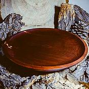 Посуда handmade. Livemaster - original item Large flat plate 33#43. Handmade.