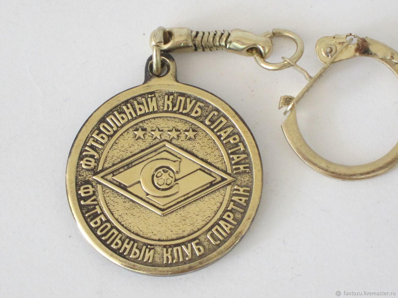 Keychain-coin of FC Spartak', Key chain, Yaroslavl,  Фото №1