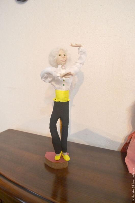 Коллекционные куклы ручной работы. Ярмарка Мастеров - ручная работа. Купить Учитель танцев. Handmade. Кукла ручной работы, учитель