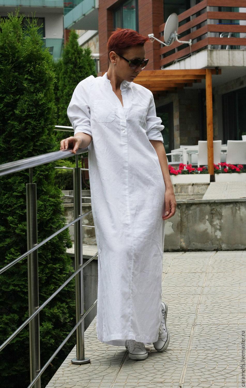 a22312cc59e Ярмарка Мастеров - ручная работа. Купить Длинные рубашки из льна   · Платья  ручной работы. Длинные рубашки из льна   Платье. Жана Кошева (CARAMELfs) ...