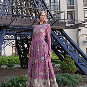 """Одежда handmade. Livemaster - original item Авторское платье """"Роза Бохо"""". Handmade."""