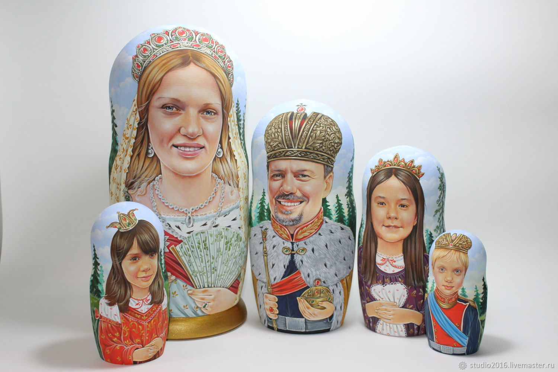 портретные, Матрешки, Москва,  Фото №1