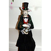 Куклы и игрушки handmade. Livemaster - original item Porcelain Doll Alice`s White Rabbit handmade. Handmade.