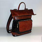 Сумки и аксессуары handmade. Livemaster - original item Backpack female 303. Handmade.