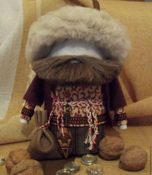 Народные куклы ручной работы. Ярмарка Мастеров - ручная работа. Купить Кукла-оберег Богач. Handmade. Богач, благополучие