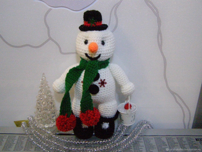 """Европейский Снеговик """"ЗАТЕЙКИН""""!!!, Мягкие игрушки, Тверь,  Фото №1"""