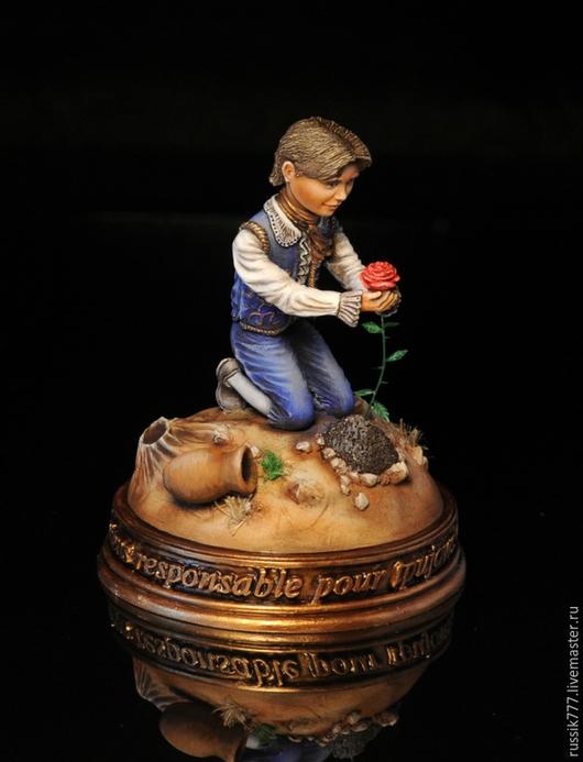 Миниатюра ручной работы. Ярмарка Мастеров - ручная работа. Купить Маленький принц. Handmade. Маленький принц, ручная роспись акрилом