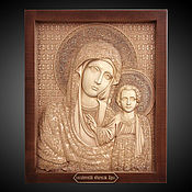 Картины и панно handmade. Livemaster - original item The Kazan icon of the blessed virgin Mary. Handmade.