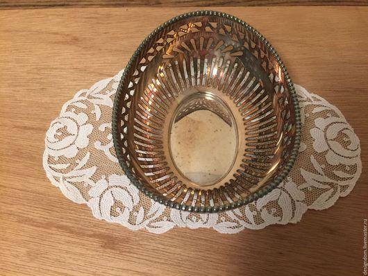Винтажная посуда. Ярмарка Мастеров - ручная работа. Купить Вазочка серебрение. Handmade. Серебряный, чайный набор, банка для чая