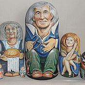 Подарки к праздникам ручной работы. Ярмарка Мастеров - ручная работа Большое семейство. Handmade.