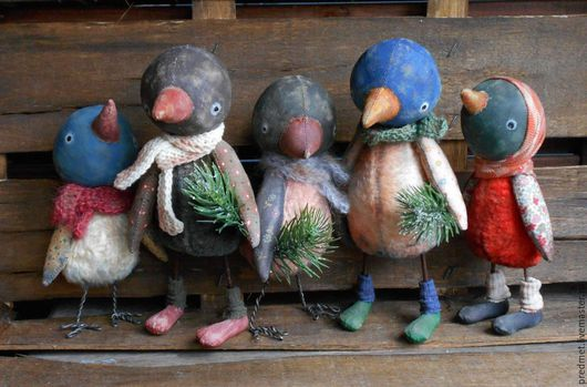Игрушки животные, ручной работы. Ярмарка Мастеров - ручная работа. Купить Птичий базар. Handmade. Разноцветный, плюшевая птичка, розовый