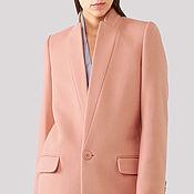 Одежда ручной работы. Ярмарка Мастеров - ручная работа Розовое демисезонное пальто на осень. Handmade.