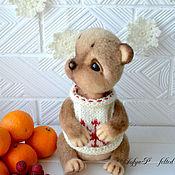 Куклы и игрушки ручной работы. Ярмарка Мастеров - ручная работа Хомячок Хома. Handmade.