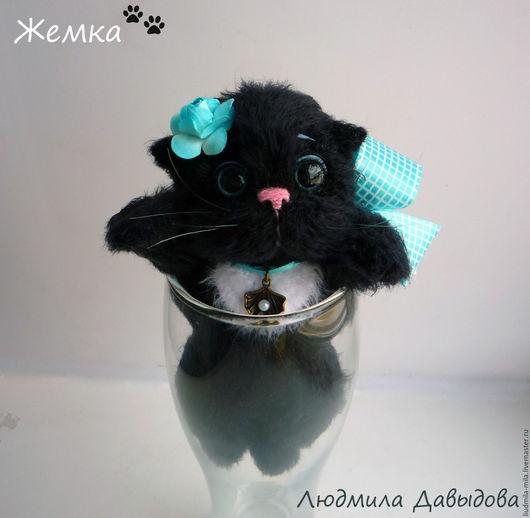 Людмила Давыдова, черный кот, черная кошка, игрушка черный кот, игрушка черная кошка, вязаная кошка, вязаные котики, вязаные коты, вязаный кот, вязаный котик
