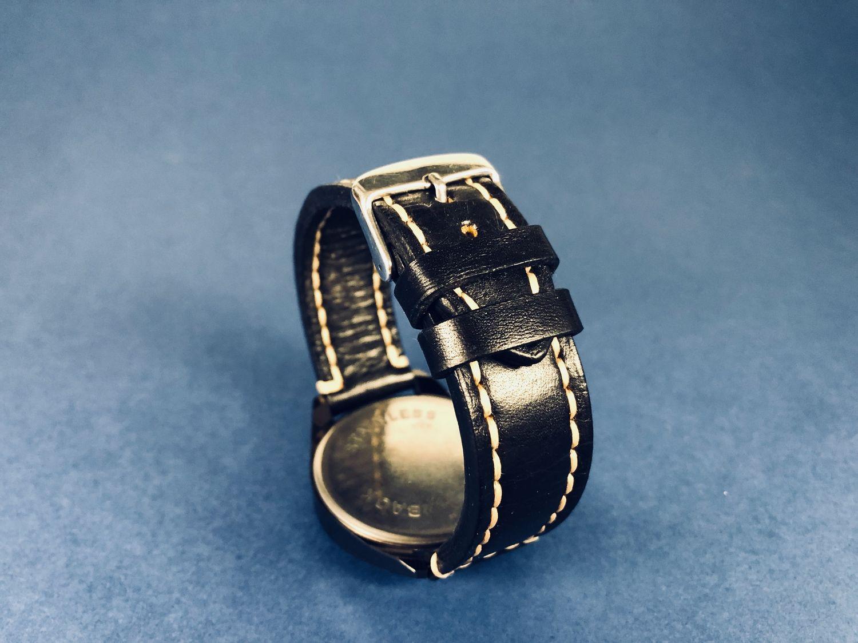 Ремешок для часов из натуральной кожи, Мешочки для подарков, Москва,  Фото №1