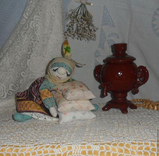 Народные куклы ручной работы. Ярмарка Мастеров - ручная работа. Купить Вечер. Груня приморилась. Кукла интерьерная в русском стиле.. Handmade.