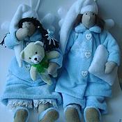 Куклы и игрушки ручной работы. Ярмарка Мастеров - ручная работа Пара ангелов сна  Сплюшки. Handmade.