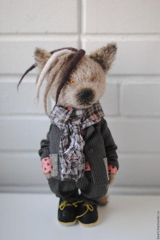 Мишки Тедди ручной работы. Ярмарка Мастеров - ручная работа. Купить Волк -  Густав. Handmade. Тедди, для подарка, teddy bear