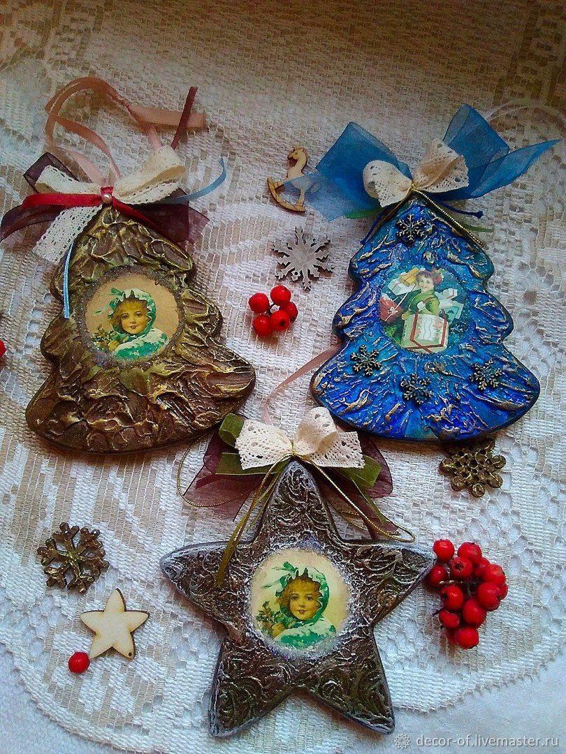 Новогодние украшение. Елочка, , Москва, Фото №1