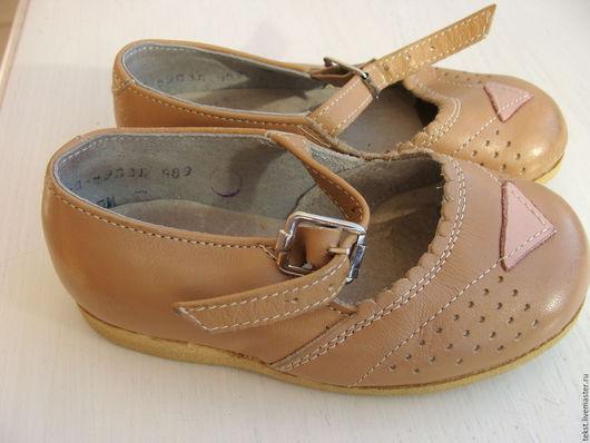 Одежда. Ярмарка Мастеров - ручная работа. Купить Детские ботиночки, винтаж.. Handmade. Комбинированный