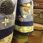 Одежда ручной работы. Ярмарка Мастеров - ручная работа Комплект юбка с сумкой. Весенние трели.. Handmade.
