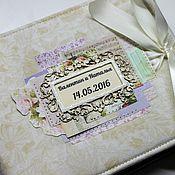 Свадебный салон handmade. Livemaster - original item Wedding savings book. Handmade.
