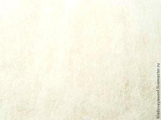 Валяние ручной работы. Ярмарка Мастеров - ручная работа. Купить Кардочес 21микр( австр. меринос). Handmade. Белый, шерсть для валяния