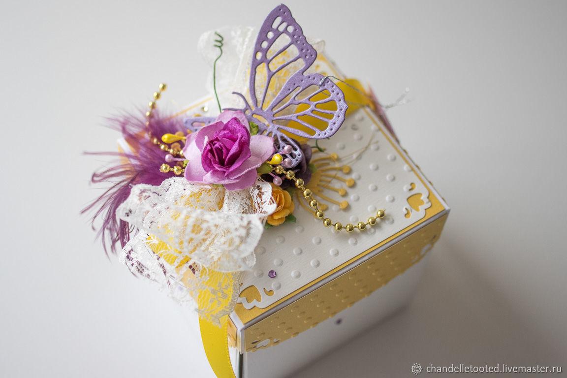 Handmade Card Box Wedding Card Box Birthday Card Box Magic Box