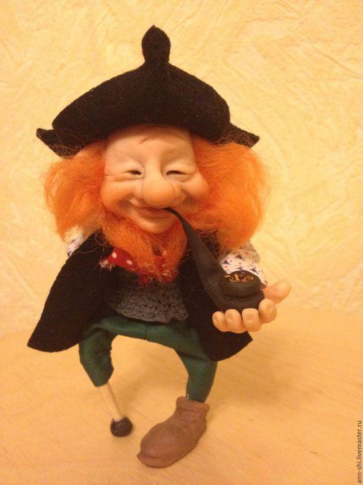 Коллекционные куклы ручной работы. Ярмарка Мастеров - ручная работа. Купить Пират. Handmade. Комбинированный, оберег, хлопок