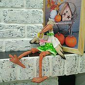 Куклы и игрушки ручной работы. Ярмарка Мастеров - ручная работа Аист с младенцем. Handmade.