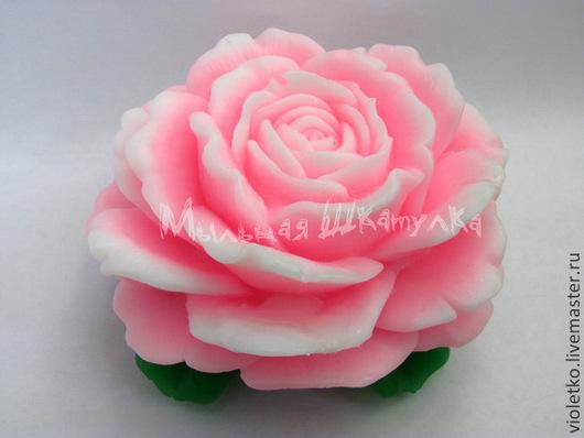 Мыло ручной работы. Ярмарка Мастеров - ручная работа. Купить Мыло Роза Шикарная. Handmade. Розовый, мыло в подарок