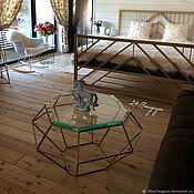 Для дома и интерьера handmade. Livemaster - original item Coffee table BRILLIANT. Handmade.