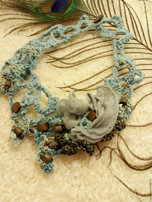 necklace 'air', Necklace, Kaluga,  Фото №1