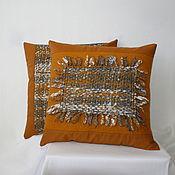 """Для дома и интерьера ручной работы. Ярмарка Мастеров - ручная работа 2 подушки """"Осень"""". Handmade."""