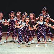 Работы для детей, ручной работы. Ярмарка Мастеров - ручная работа Детскиие комбинезоны для танцевального коллектива. Handmade.