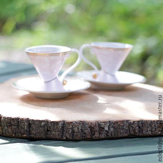 Кухня ручной работы. Ярмарка Мастеров - ручная работа. Купить Спил дерева, липа 35-40 см. Handmade. Бежевый