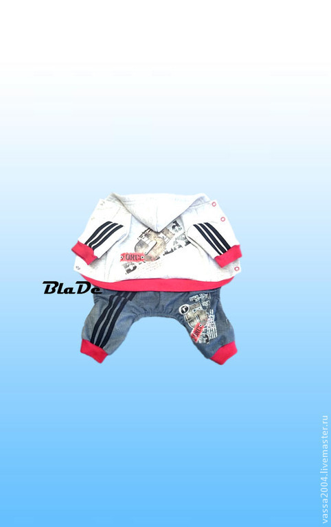 """Одежда для собак, ручной работы. Ярмарка Мастеров - ручная работа. Купить Комбинезон """"5"""". Handmade. Серый, одежда для собак на заказ"""