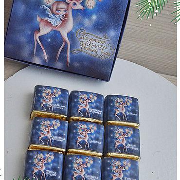 Сувениры и подарки ручной работы. Ярмарка Мастеров - ручная работа Подарки: шокобоксы на новый год. Handmade.