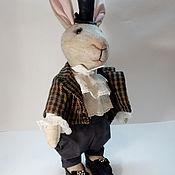 """Мягкие игрушки ручной работы. Ярмарка Мастеров - ручная работа Текстильная кукла """"мистер Кроуль"""". Handmade."""
