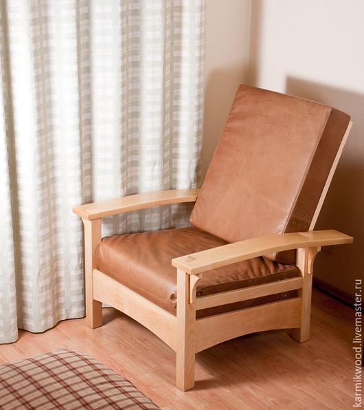 Мебель ручной работы. Ярмарка Мастеров - ручная работа. Купить Кресло. Handmade. Бежевый, удобное, Дерево натуральное
