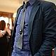 """Галстуки, бабочки ручной работы. Ярмарка Мастеров - ручная работа. Купить 3D галстук из натуральной кожи """"Лицо"""". Handmade. Черный"""