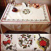 Для дома и интерьера ручной работы. Ярмарка Мастеров - ручная работа Скатерть Full of Berries. Handmade.