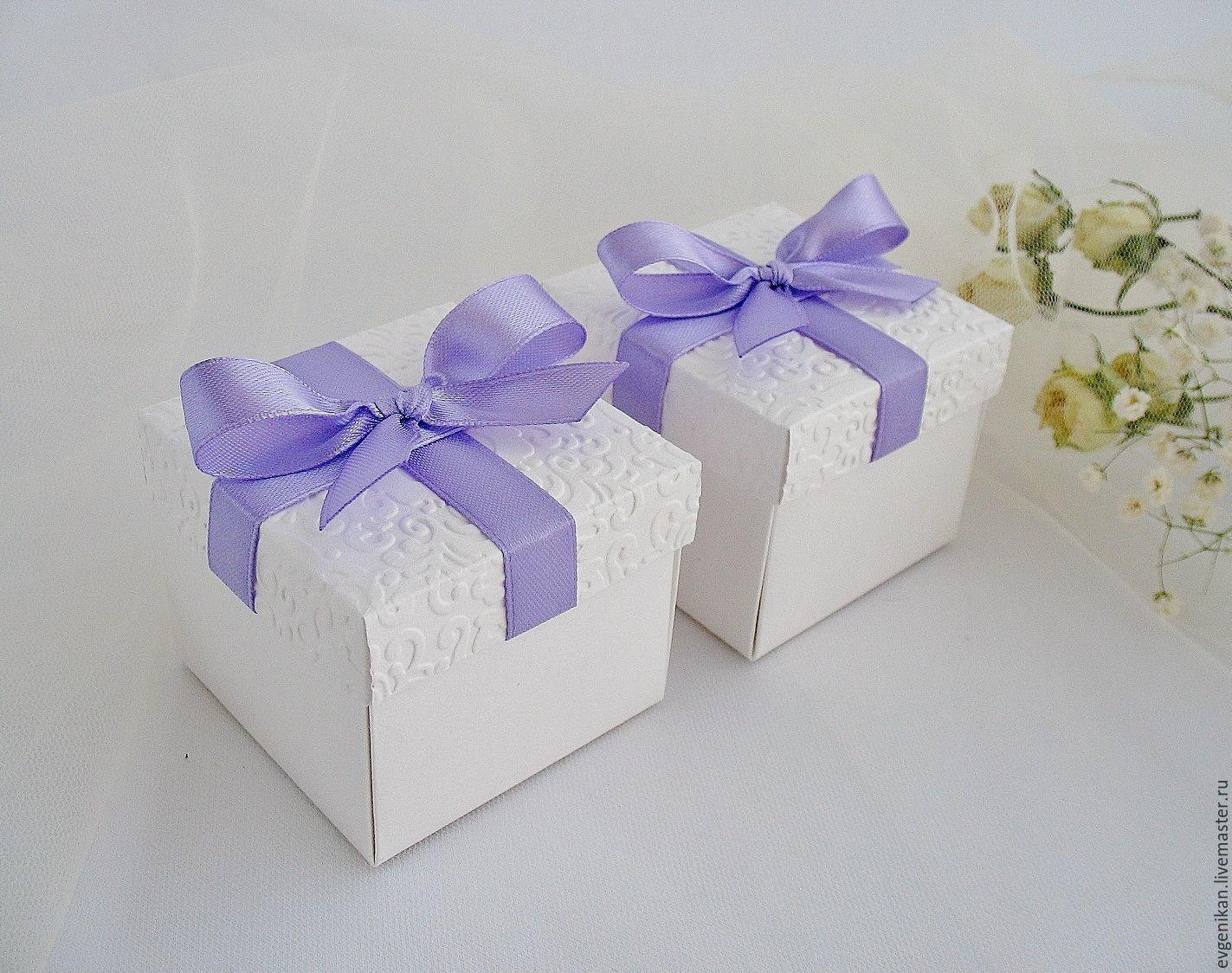 Коробочки для подарков гостям 17