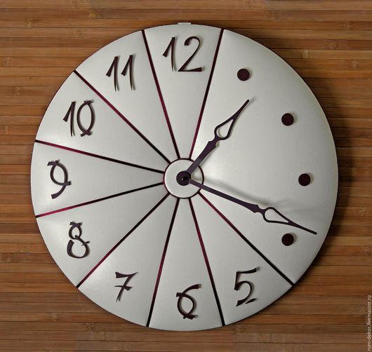 """Часы для дома ручной работы. Ярмарка Мастеров - ручная работа. Купить Часы из кожи в японском стиле""""Osaka"""". Handmade. Часы для дома"""